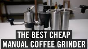 portable manual coffee grinder vacuum cup stainless steel funnel filter ceramic grinding mechanism