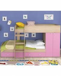 Купить <b>двухъярусная кровать Golden Kids 2</b> дуб сонома/розовая ...