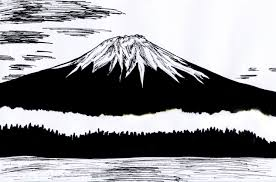 Results for pictures mt fuji black & white.