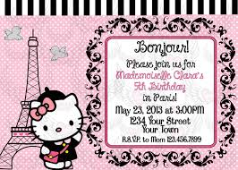 hello kitty parisian paris girl invitation and 50 similar items hello kitty parisian paris girl invitation