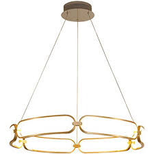 <b>Postmodern LED</b> Lustre Aluminum Chandeliers Nordic simplicity For ...
