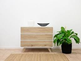 Kennedy <b>Three Drawer</b> - Bedroom Drawers | Mocka AU