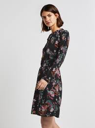 Dress with <b>flower pattern</b> - from TOM TAILOR Denim