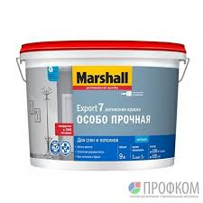 <b>Краска Export</b>-<b>7 Marshall</b> матовая (9л) база BС (только под ...