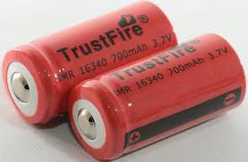 Test of <b>TrustFire IMR16340</b> 700mAh (Red)