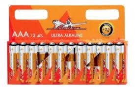 <b>Airline AAA</b>-12 <b>Батарейки</b> LR03/<b>AAA</b> щелочные 12 шт. <b>AAA</b>-12