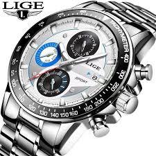 <b>Lige</b> Watches - <b>Men's Lige</b> Wrist Watch In Bangladesh - Daraz.com.bd