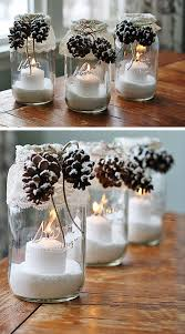 Small Picture 25 Amazing DIY Christmas Decor Ideas on a Budget Candle jars