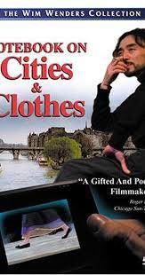 Aufzeichnungen zu Kleidern und Städten (1989) - <b>Yohji Yamamoto</b> ...
