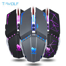 <b>Professional V7 USB Wired</b> Macro Programming Mouse 7 Buttons ...