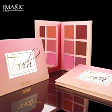 <b>IMAGIC</b> Makeup <b>6 Colors Blush</b> Powder Palette Natural Waterproof ...