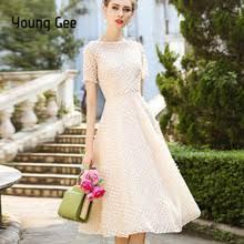 <b>Popular Women Lace</b> Short Dress White Pink-Buy Cheap Women ...