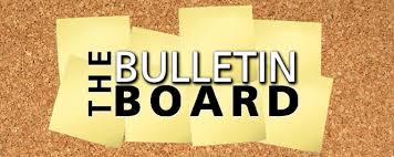 bulletin board bulletin board