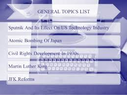 List of easy us history research paper topics SlideShare EARLY US HISTORY