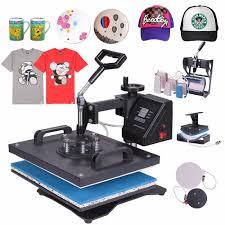 8 In 1 <b>Heat Press Machine</b> For <b>Shoes</b>/Plate/Mug/Cap/TShirt Etc ...