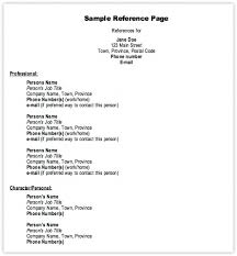 doc personal reference list template cv examples reference list template example of a reference listsample personal reference list template