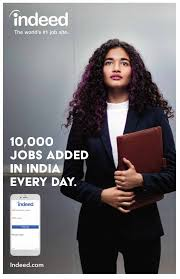 10 000 jobs will be added to this new online job search site 10 000 jobs added in every day upload your resume at indeed com that job you re looking for it s here at indeed website receives 20 crore unique