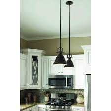 kitchen linear dazzling lights clear ceiling recessed: island lights from lowes allen roth  in w bronze mini pendant