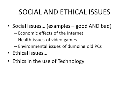 examples of analytical essays   essaysocial and ethical issues examples good bad economic  welcome to itgs information technology in a global society