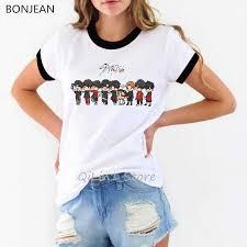 <b>Ropa mujer 2019</b> Stray Kids kpop tshirt women plus size <b>vogue</b> ...