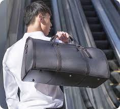 Дорожная <b>сумка</b> RunMi 90 <b>light</b> Business Travel <b>Bag</b> Gray (Серая ...
