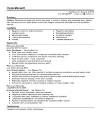 sample resume for warehouse associate sample customer service resume sample resume for warehouse associate warehouse associate resume sample resume builder big warehouse and production example