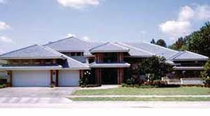 Prairie Style Home Plans   e ARCHITECTURAL designPlan W HD  Exquisite Frank Lloyd Wright Style House Plan