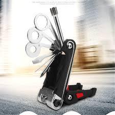 Portable 15 in 1 <b>Bicycle Repair Tool</b> Kit Bike Pocket <b>Multi Function</b> ...