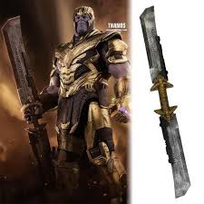 <b>Avengers</b>: <b>Endgame Thanos Double Edged</b> Sword Weapon ...