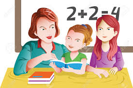 teacher helping student math clipart clipartfest studying math in classroom