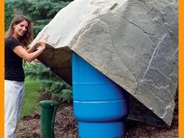 DekoRRa Model Artificial Boulder Pressure Tank Cover  Fake    Psst