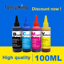 <b>Toney King 100ml</b> Printer Dye Refill Ink Kit For HP 950 951 For ...