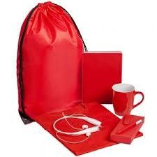 <b>Набор Welcome Kit</b>, <b>красный</b>, размер M