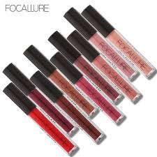 <b>FOCALLURE</b> Matte <b>Liquid Lipstick</b> Waterproof Moisturizer Smooth ...