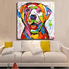 <b>HDARTISAN Vrolijk schilderij Wall</b> Art Picture Printed Golden ...