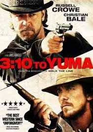 Interpretación: Russell Crowe (Ben Wade), Christian Bale (Dan Evans), Logan Lerman (William Evans), Ben Foster ... - 3-10-To-Yuma-cover