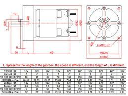 Bringsmart 35W <b>775 Gear Motor</b> 12V <b>DC</b> Mini Electric Machine 24V ...