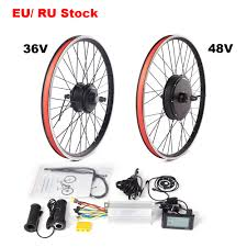 <b>MTB Ebike conversion kit</b> 36V 250W 350W 500W 48V 1000W ...