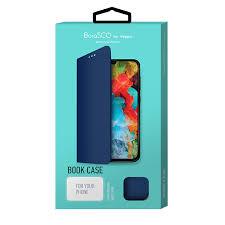 <b>Чехол</b> Borasco <b>Book Case для</b> Xiaomi Redmi 7 (синий) — купить в ...