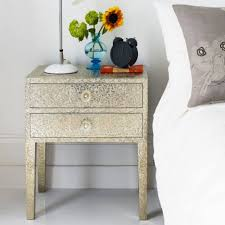 ideas bedside tables pinterest night: amazing black scheme color furniture metal bedside table with three drawer using lid and bedroom home inspiration design furniture furniture metal bedside