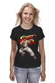 "Футболка классическая ""<b>Street</b> Fighter Ryu"" #684459 от Combat ..."