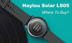 Where to Buy the <b>Haylou</b> Solar LS05 Smartwatch? | GearBest Blog