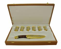 Купить <b>набор</b> охотничий ( нож, <b>6 стопок</b> ) от производителя ...