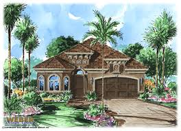 Tuscan Style House Plans  Floor Plans  Home Plans Plan   Weber    Mediterranean Floor Plan   Benito House Plan