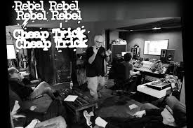 Listen to <b>Cheap Trick</b> Cover David Bowie's 'Rebel Rebel'
