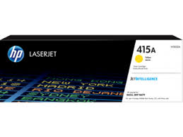 Лазерный <b>картридж HP LaserJet 415A</b> (W2032A), желтый, 2100 стр
