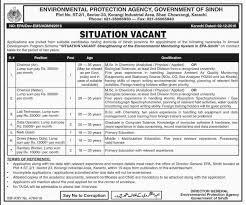 new jobs in shan chowrangi karachi for environmental protection new jobs in shan chowrangi karachi for environmental protection agency