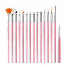 <b>3pcs</b>/set <b>Nail</b> Art Liner Painting Pen 3D Tips DIY Acrylic <b>UV Gel</b> ...