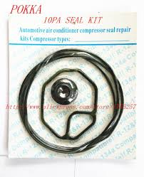 Free Shipping,<b>Automotive air conditioning compressor</b> seal kit for ...
