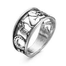 <b>Кольцо</b> 2308568 серебро, без вставок, производитель Красная ...